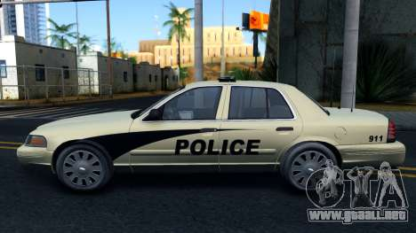 Ford Crown Victoria Generic 2010 para GTA San Andreas left