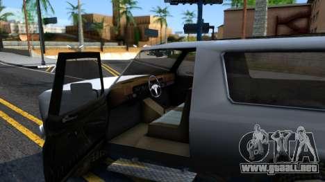 Land Roamer Driver Parallel Lines para visión interna GTA San Andreas