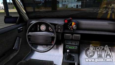 Ford Mustang 1993 para visión interna GTA San Andreas