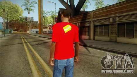 T-shirt con un Ciervo para GTA San Andreas