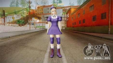 DoA 5 Marie Rose KOF DLC - Hinako Outfit para GTA San Andreas