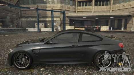 GTA 5 BMW M4 F82 2015 vista lateral izquierda