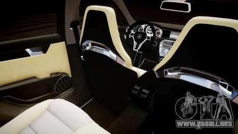 Mercedes-Benz C63 AMG para GTA 4