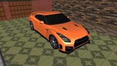 El Nissan GT-R 35 Restyling