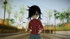 Tomoko Kuroki 1.0 (Watamote) para GTA San Andreas