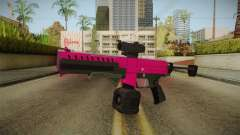 GTA 5 Combat PDW Pink