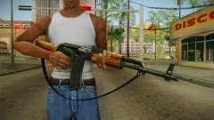 AK47 con correa para GTA San Andreas