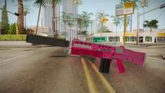 GTA 5 Assault Shotgun Pink para GTA San Andreas
