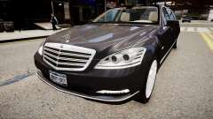 Mercedes-Benz S600 Guard Pullman 2011