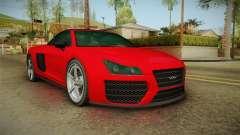 OBEY 9F de GTA 5 para GTA San Andreas