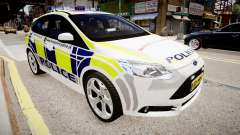 Ford Focus 2013 Swedish Police