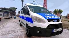 Ford Transit Polish Police 2015