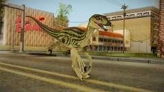 Primal Carnage Velociraptor Ivy Striped para GTA San Andreas