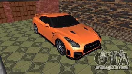 El Nissan GT-R 35 Restyling para GTA San Andreas