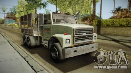 GTA 5 Vapid Scrap Truck v2 IVF para GTA San Andreas
