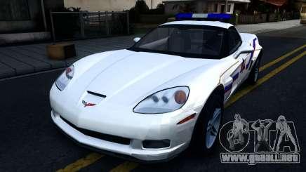 Chevy Corvette Z06 Hometown PD 2006 para GTA San Andreas