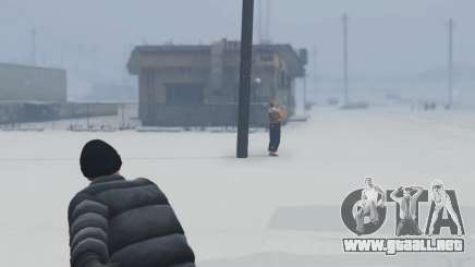 Snowballs in Singleplayer para GTA 5