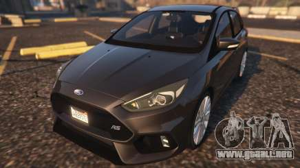 Ford Focus RS 2016 para GTA 5