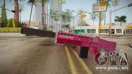GTA 5 Assault Shotgun Pink para GTA San Andreas