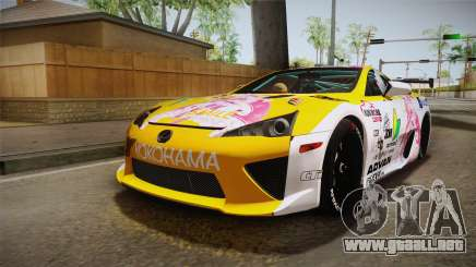 Lexus LFA Beatrice The Orange of ReZero para GTA San Andreas