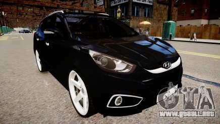 Hyundai ix35 DUB vs 2 para GTA 4