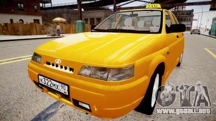VAZ 2112 Taxi para GTA 4