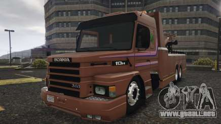 Scania 113H Guincho 4x6 Funcional para GTA 5