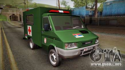 Zastava Rival Military Ambulance para GTA San Andreas