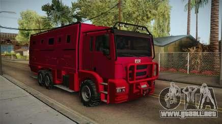 GTA 5 HVY Brickade para GTA San Andreas