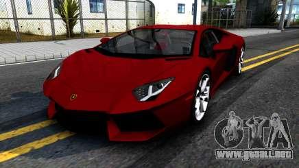 Lamborghini Aventador LP700-4 para GTA San Andreas