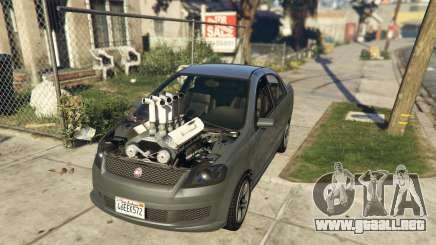 Asea V8 Mod para GTA 5