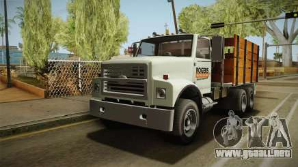 GTA 5 Vapid Scrap Truck Cleaner v2 para GTA San Andreas