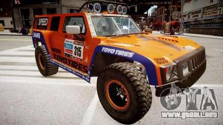 Hummer H3 Robby Gordon 2013 para GTA 4