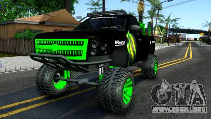 Chevrolet Silverado Monster Energy V2 para GTA San Andreas