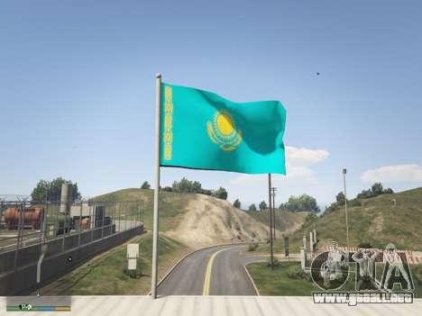 GTA 5 La Bandera De Kazajstán tercera captura de pantalla