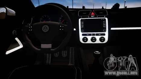 Volkswagen Scirocco Mk.III '08 Tune Final para GTA 4 vista interior