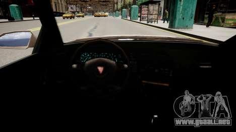 Maibatsu Vincent Tuning para GTA 4 vista interior