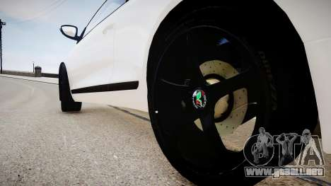 Volkswagen Scirocco Mk.III '08 Tune Final para GTA 4 vista hacia atrás