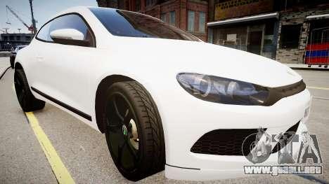 Volkswagen Scirocco Mk.III '08 Tune Final para GTA 4 visión correcta
