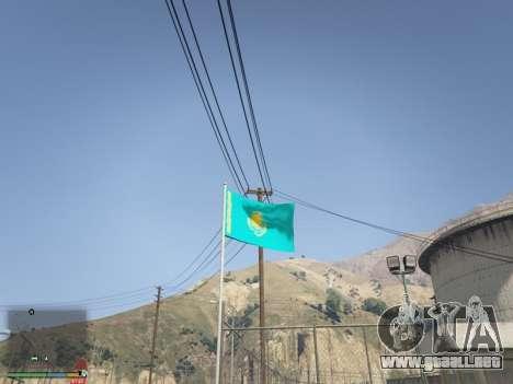 GTA 5 La Bandera De Kazajstán