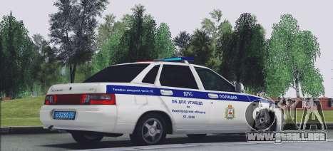 VAZ 2110 TRÁFICO para GTA San Andreas