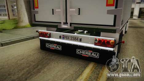 Iveco Eurotech 400E34 Tandem v2.0 Trailer para visión interna GTA San Andreas