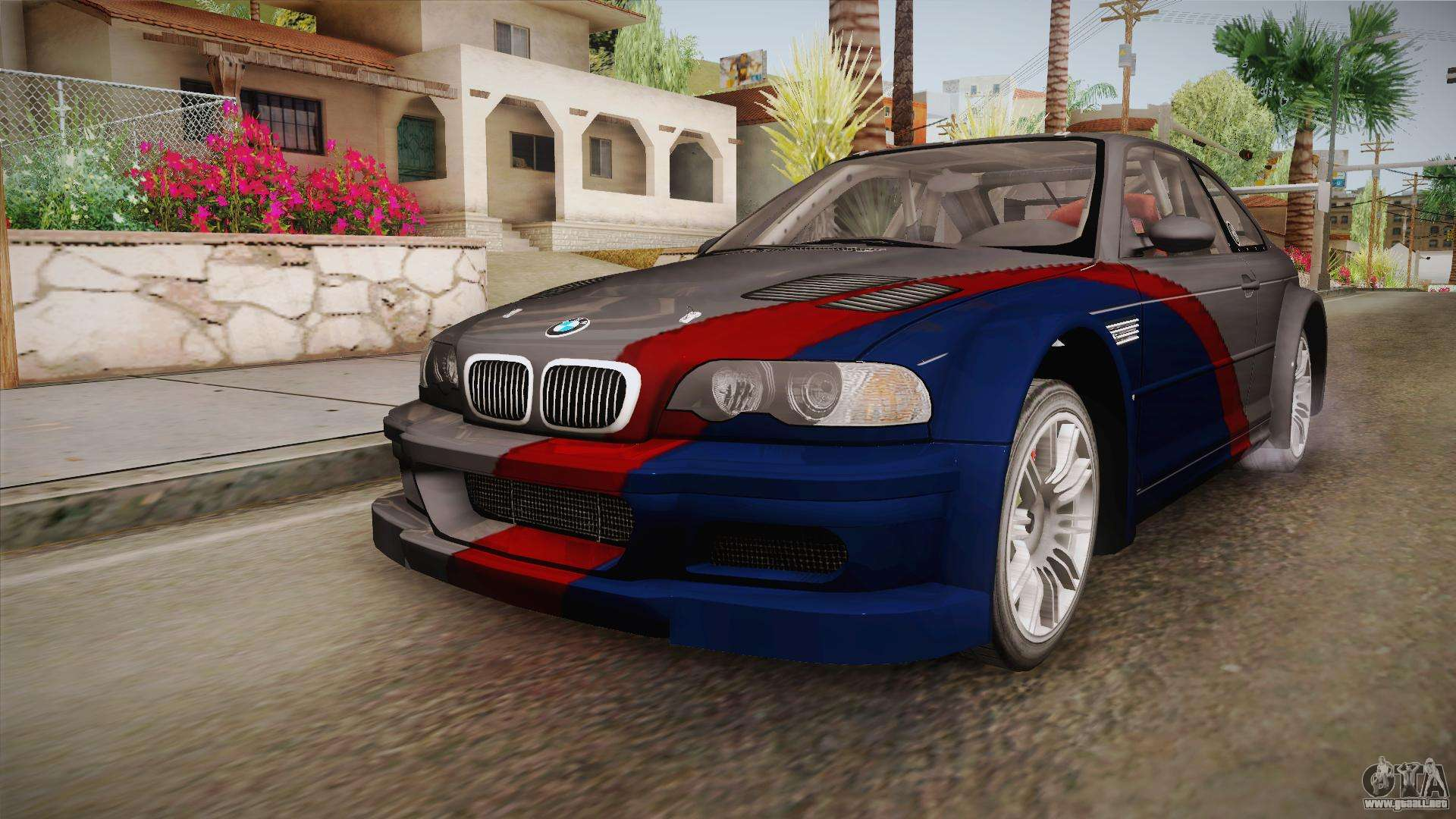 Nfs Mw Bmw M3 Gtr E46 Hidden Vinyl Version Para Gta San Andreas