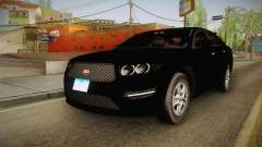 Vapid Interceptor 2013 Unmarked para GTA San Andreas