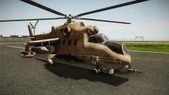 CoD Series - Mi-24D Hind Desert para GTA San Andreas