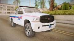 Dodge Ram 2008 Union Pacific Railroad PD para GTA San Andreas