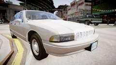 Chevrolet Caprice Civilian 1991 para GTA 4