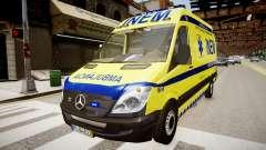 INEM Ambulance para GTA 4