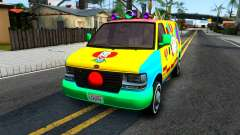 GTA V Vapid Clown Van para GTA San Andreas