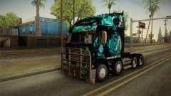 Freightliner Argosy 8x4 Hatsune Miku para GTA San Andreas